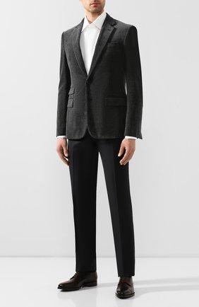Мужской хлопковый пиджак RALPH LAUREN серого цвета, арт. 798783843 | Фото 2
