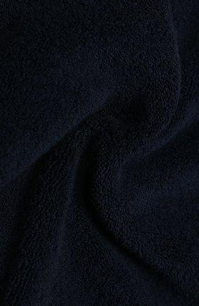 Мужские хлопковое полотенце LORO PIANA темно-синего цвета, арт. FAI6077 | Фото 2