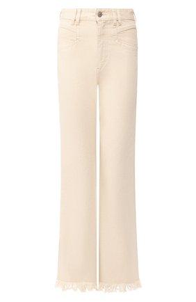Женские джинсы ISABEL MARANT бежевого цвета, арт. PA1649-20E010I/ELVIRA | Фото 1
