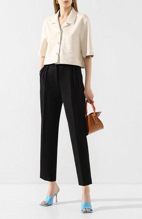 Женские брюки ACNE STUDIOS черного цвета, арт. AK0209 | Фото 2