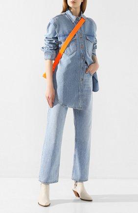 Женские джинсы NANUSHKA голубого цвета, арт. AMARILL0_BLUE WASH_RIGID DENIM | Фото 2