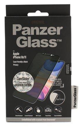 Защитное стекло Swarovski для iPhone XR/11 Case Friendly CamSlider Privacy | Фото №1