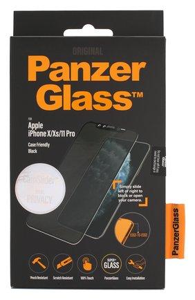 Защитное стекло для iPhone X/Xs/11 Pro Case Friendly CamSlider Privacy | Фото №1