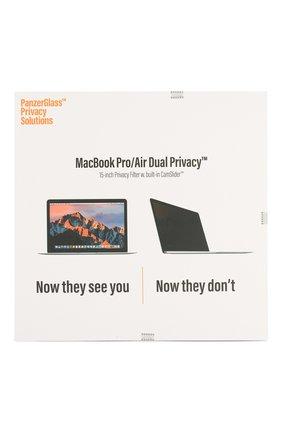 Мужской защитное стекло magnetic privacy 15.4'' для macbook pro PANZERGLASS прозрачного цвета, арт. 522 | Фото 1