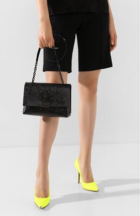 Женская сумка soft medium OFF-WHITE темно-серого цвета, арт. 0WNA120T20LEA0011008 | Фото 2