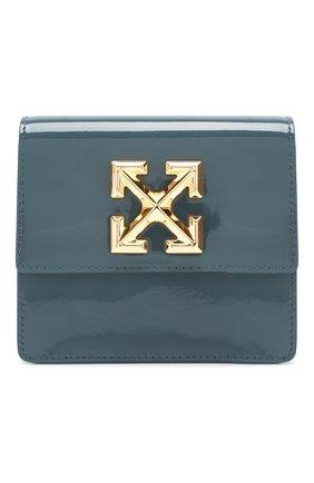 Женская поясная сумка 0.7 jitney OFF-WHITE зеленого цвета, арт. 0WNA093T20LEA0025576 | Фото 1