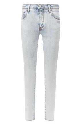 Женские джинсы OFF-WHITE голубого цвета, арт. 0WYA003T20DEN0014501 | Фото 1