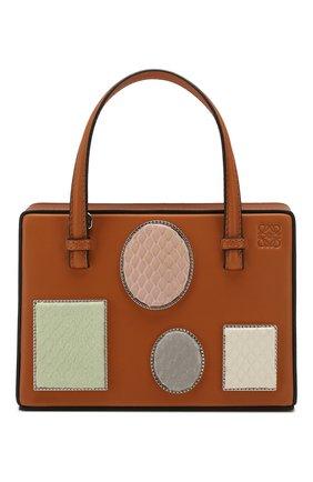 Женская сумка postal LOEWE светло-коричневого цвета, арт. 309.01.W85   Фото 1