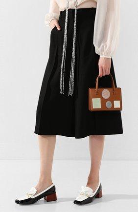 Женская сумка postal LOEWE светло-коричневого цвета, арт. 309.01.W85   Фото 2
