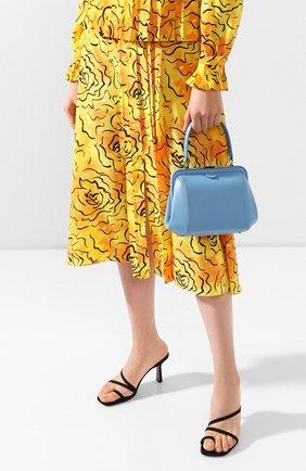 Женская сумка ULYANA SERGEENKO голубого цвета, арт. BRS030CLASSX (0312с) | Фото 2