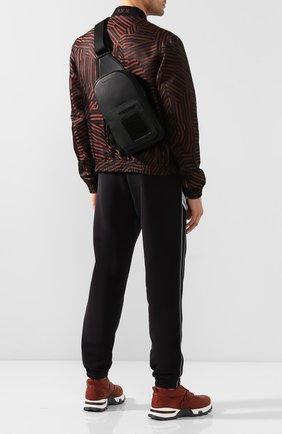 Мужской кожаный рюкзак ERMENEGILDO ZEGNA черного цвета, арт. C1557E-LHAPS/AMIS   Фото 2