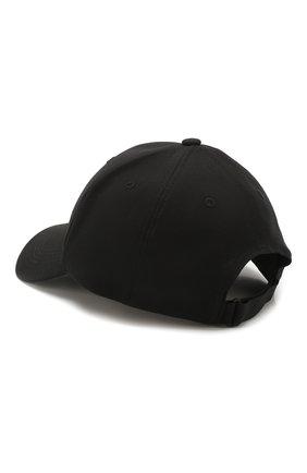 Мужской хлопковая бейсболка Y-3 черного цвета, арт. FQ6974/M | Фото 2