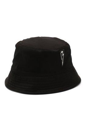 Мужская хлопковая панама NEIL BARRETT черного цвета, арт. PBCP215D N9505 | Фото 1