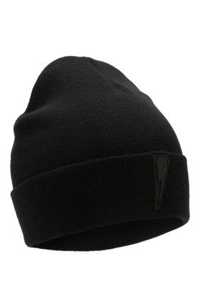 Мужская хлопковая шапка NEIL BARRETT черного цвета, арт. PBCP290A N9508 | Фото 1