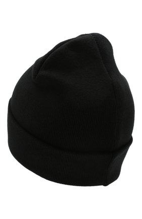 Мужская хлопковая шапка NEIL BARRETT черного цвета, арт. PBCP290A N9508 | Фото 2