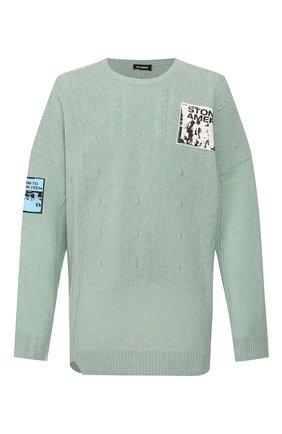 Мужской свитер RAF SIMONS голубого цвета, арт. 201-834-50010 | Фото 1