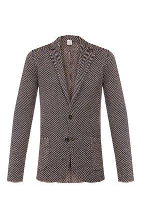 Пиджак из смеси льна и шелка   Фото №1