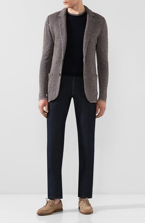 Пиджак из смеси льна и шелка   Фото №2