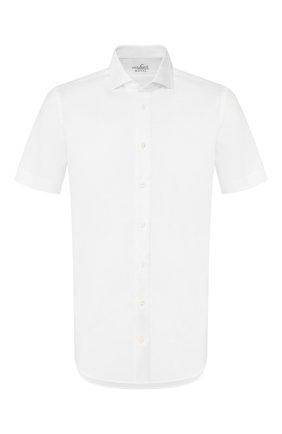 Мужская рубашка из смеси хлопка и льна VAN LAACK белого цвета, арт. RAND0-S-SFN/150051   Фото 1