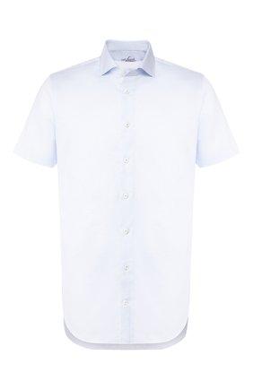 Мужская рубашка из смеси хлопка и льна VAN LAACK голубого цвета, арт. RAND0-S-SFN/150051 | Фото 1