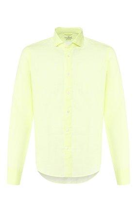 Мужская льняная рубашка VAN LAACK желтого цвета, арт. LAND0S1-SFW/171418 | Фото 1