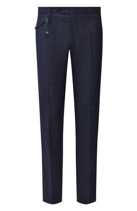 Мужской шерстяные брюки BERWICH темно-синего цвета, арт. SC/1 ALC/ZG1204 | Фото 1