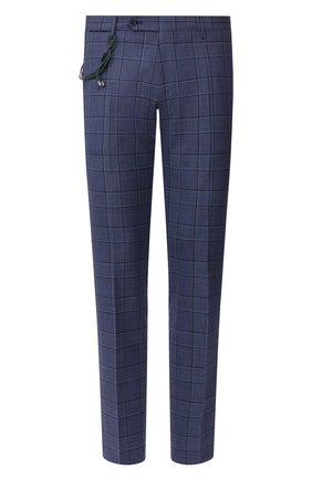 Мужской шерстяные брюки BERWICH синего цвета, арт. SC/1 ALC/ZG1204 | Фото 1