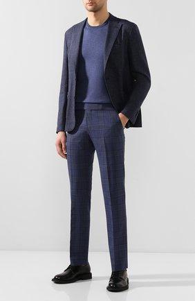 Мужской шерстяные брюки BERWICH синего цвета, арт. SC/1 ALC/ZG1204 | Фото 2