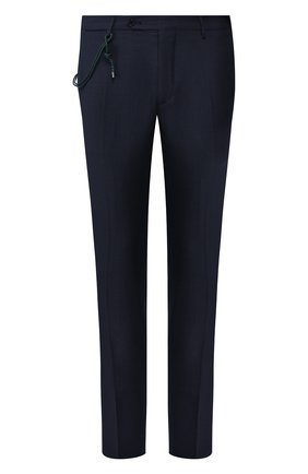 Мужской шерстяные брюки BERWICH темно-синего цвета, арт. SC/1 ALC/MZ1506 | Фото 1
