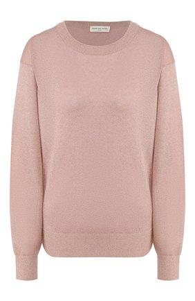Женская пуловер из вискозы DRIES VAN NOTEN светло-розового цвета, арт. 201-11222-9700 | Фото 1