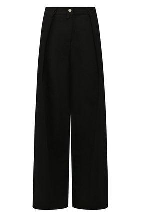 Женские джинсы DRIES VAN NOTEN черного цвета, арт. 201-10934-9395 | Фото 1
