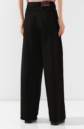 Женские джинсы DRIES VAN NOTEN черного цвета, арт. 201-10934-9395 | Фото 4