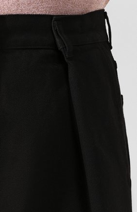 Женские джинсы DRIES VAN NOTEN черного цвета, арт. 201-10934-9395 | Фото 5