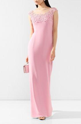 Женское платье-макси JENNY PACKHAM розового цвета, арт. JJD108L | Фото 2