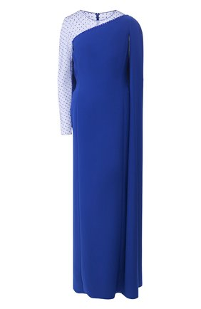 Женское платье-макси JENNY PACKHAM синего цвета, арт. JJD120L | Фото 1