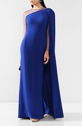 Женское платье-макси JENNY PACKHAM синего цвета, арт. JJD120L | Фото 2