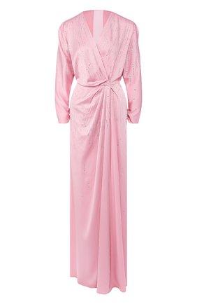 Женское платье-макси JENNY PACKHAM розового цвета, арт. JJD137L | Фото 1