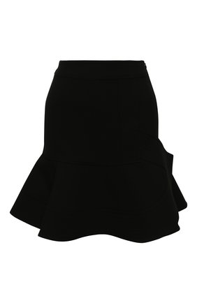 Женская мини-юбка VICTORIA, VICTORIA BECKHAM черного цвета, арт. 2120WSK000495A | Фото 1