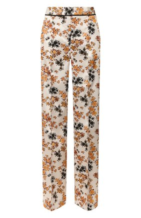 Женские брюки VICTORIA, VICTORIA BECKHAM разноцветного цвета, арт. 2220WTR001135A | Фото 1