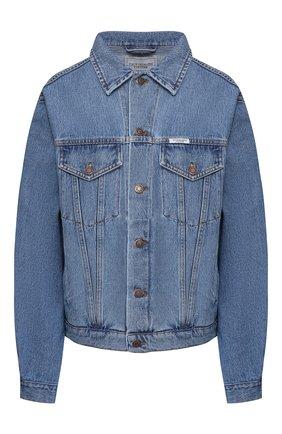 Женская джинсовая куртка FORTE DEI MARMI COUTURE синего цвета, арт. 20SF5354-02 | Фото 1