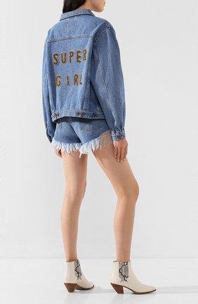 Женская джинсовая куртка FORTE DEI MARMI COUTURE синего цвета, арт. 20SF5354-02 | Фото 2