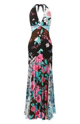 Женское платье-макси DIANE VON FURSTENBERG разноцветного цвета, арт. 14736DVF | Фото 1