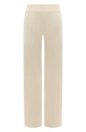 Женские брюки из вискозы MRZ светло-бежевого цвета, арт. S20-016608 | Фото 1