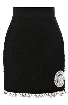 Женская юбка ULYANA SERGEENKO черного цвета, арт. GNC002SS20P (0522т20) | Фото 1