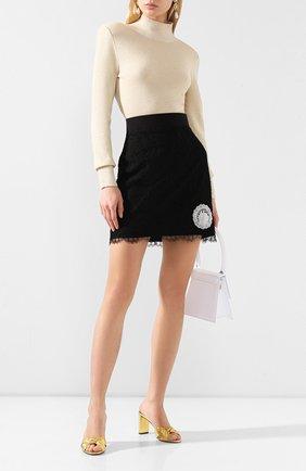 Женская юбка ULYANA SERGEENKO черного цвета, арт. GNC002SS20P (0522т20) | Фото 2