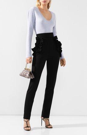 Женские брюки ULYANA SERGEENKO черного цвета, арт. PNT002FW19P (1655т19) | Фото 2