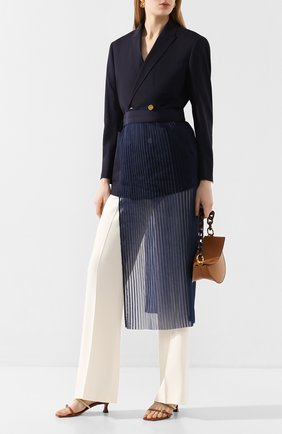 Женская юбка-фартук HYKE синего цвета, арт. 14093 | Фото 2