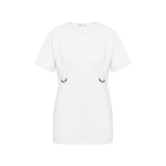 Хлопковая футболка Act n1