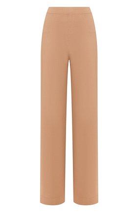 Женские брюки из вискозы D.EXTERIOR бежевого цвета, арт. 50082   Фото 1