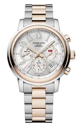 Мужские часы mille miglia chronograph CHOPARD серебряного цвета, арт. 158511-6001 | Фото 1